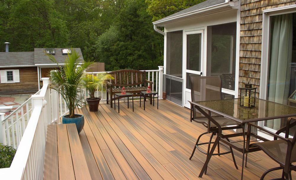 Putnam Handyman Services builds custom decks and repairs decks